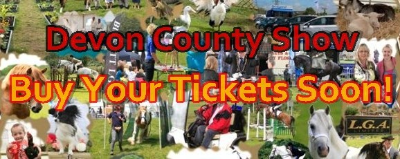 Devon County Show Next Week
