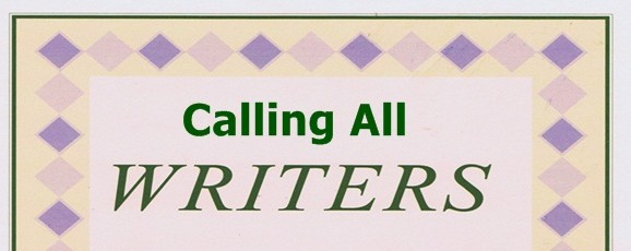 Calling All Writers……!