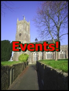 Events for front page of website