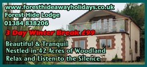 Front Page Advert Large - 3 day break