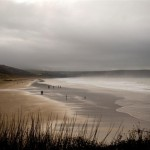 Woolacombe Beach in winter