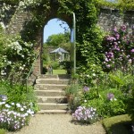 Entrance to walled gardens