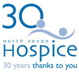 North Devon Hospice 30 Years Logo