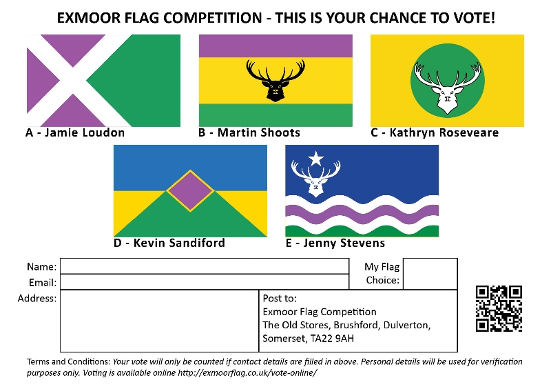 Exmoor Flag Voting Form