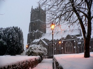 Parish Church at Christmas