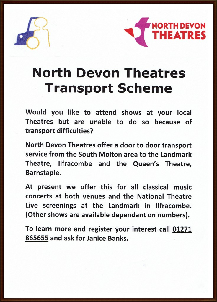 Theatres Transport Scheme