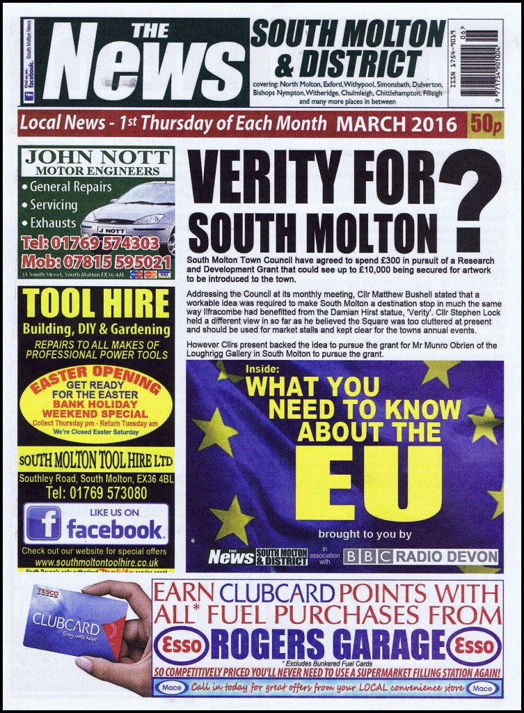 Front Cover March 2016