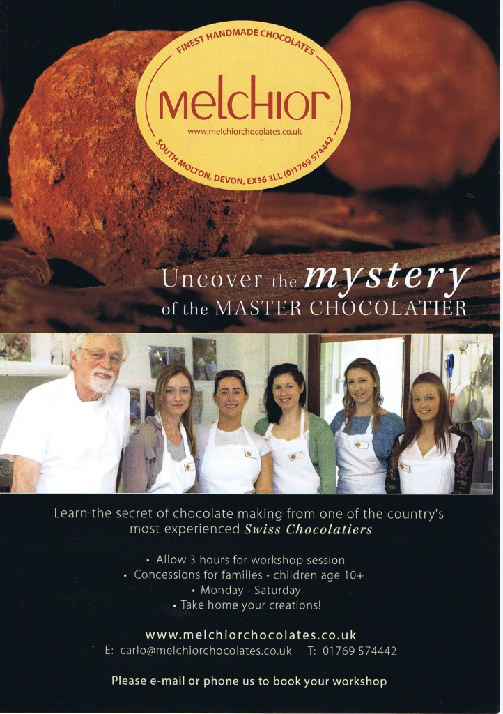 Melchior Chocolates Workshop