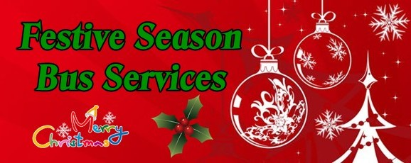 Christmas & New Year Bus Services