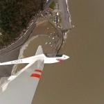 Gliding over Minehead