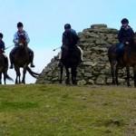 Dunkery Beacon the highest  point on Exmoor