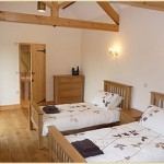 Bedroom at The Linhay