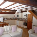 Lounge at Larch Cottage