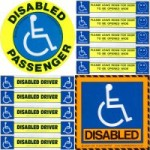 Disabled badges & stickers