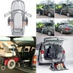 Wheelchair stowage