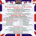Olde English Fayre Timetable 2015