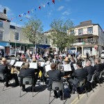 Town Band in Square - Photo courtesy of South Molton Photos